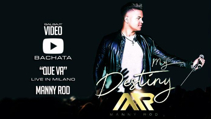 Manny Rod - Que Va (Bachata Live in Milano)