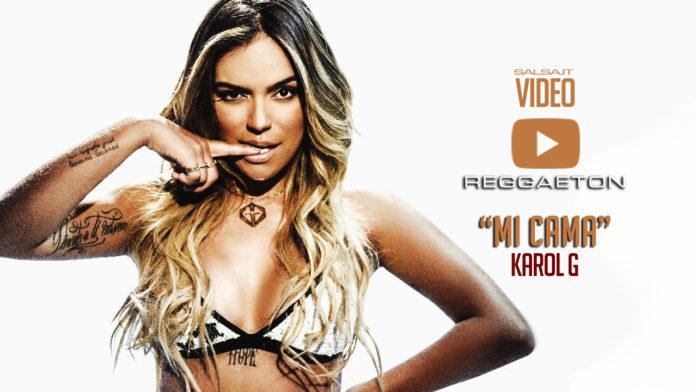 Karol G. - Mi Cama (2018 Reggaeton official video)