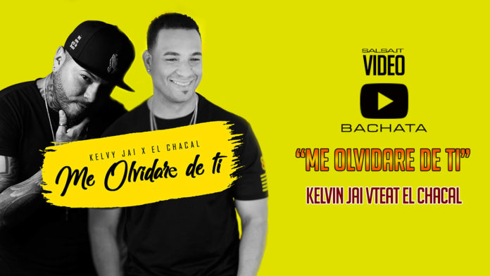 Kelvy Jai feat. El Chacal - Me Olvidare De Ti (2018 bachata official video)