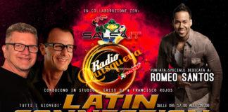 Latin Connection - 03 Maggio 2018 (Romeo Santos)