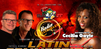 Latin Connection - 31 Maggio 2018 (Cecila Gayle)