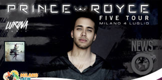 Prince Royce - Five Tour - Milano Latin Festival 4 Luglio