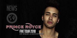 Prince Royce - Five Tour - Roma 2018