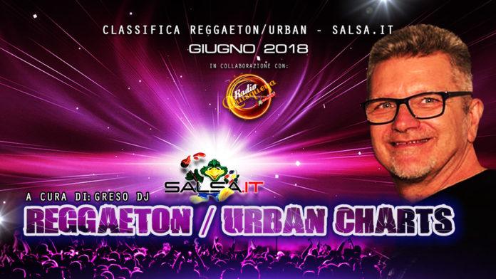 Reggaeton Urban Charts - Giugno 2018 (Top 30)