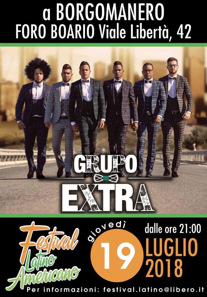 Grupo Extra al Festival di Borgomanero