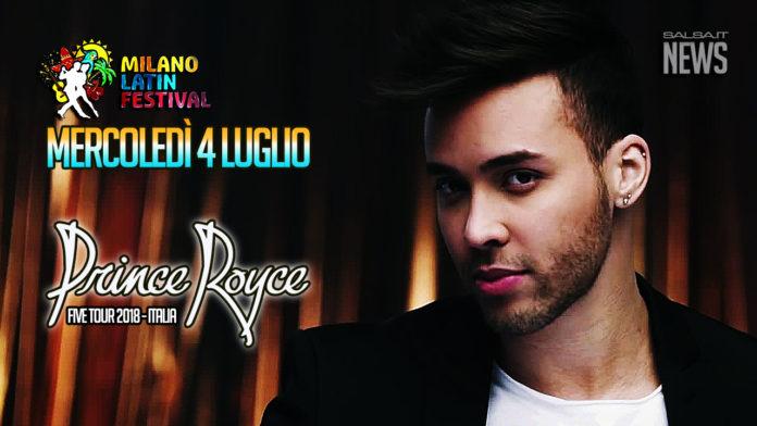 Prince Royce - Five Tour 2018 (04 07 2018 Concerto Milano)