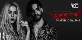Shakira, Maluma - Clandestino (2018 Reggaeton official video)