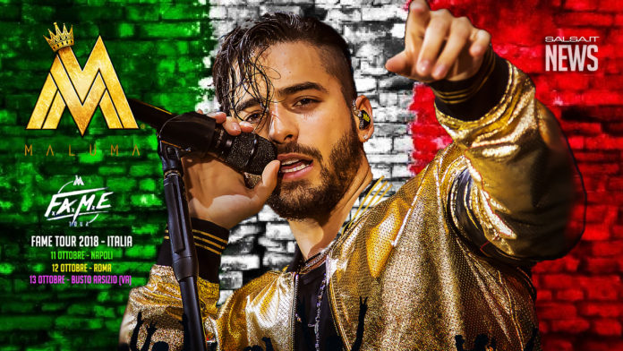 Maluma Fame Tour 2018 - Italy