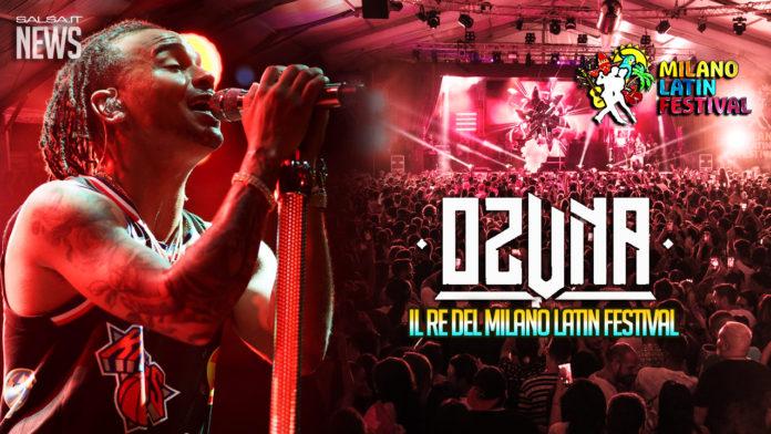 Ozuna, il re del Milano Latin Festival
