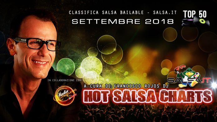 Hot Salsa Charts (Classifica) - Settembre 2018