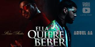 Anuel AA feat. Romeo Santos - Ella Quiere Beber (2018 latin trap official video)