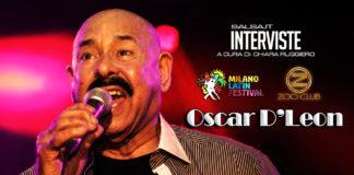 Oscar De Leon - Intervista (2018 Milano)