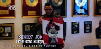 Ricky Jo - Baila Como El Papu - Vincitore del Disco di Platino