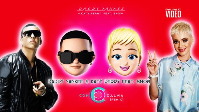 Daddy Yankee + Katy Perry feat. Snow - Con Calma Rmx (2019 Reggaeton Lyric Video)