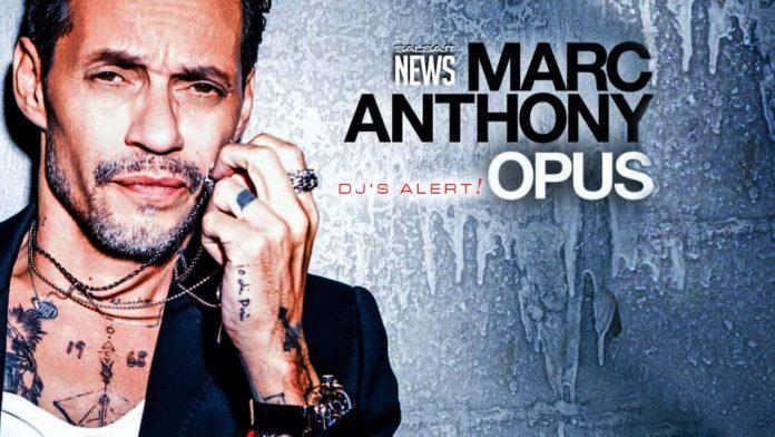 In Uscita OPUS il nuovo album di Marc Anthony (2019 News Salsa)