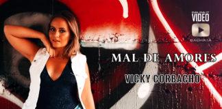 Vicky Corbacho - Mal de Amores (2019 Bachata lyric video)