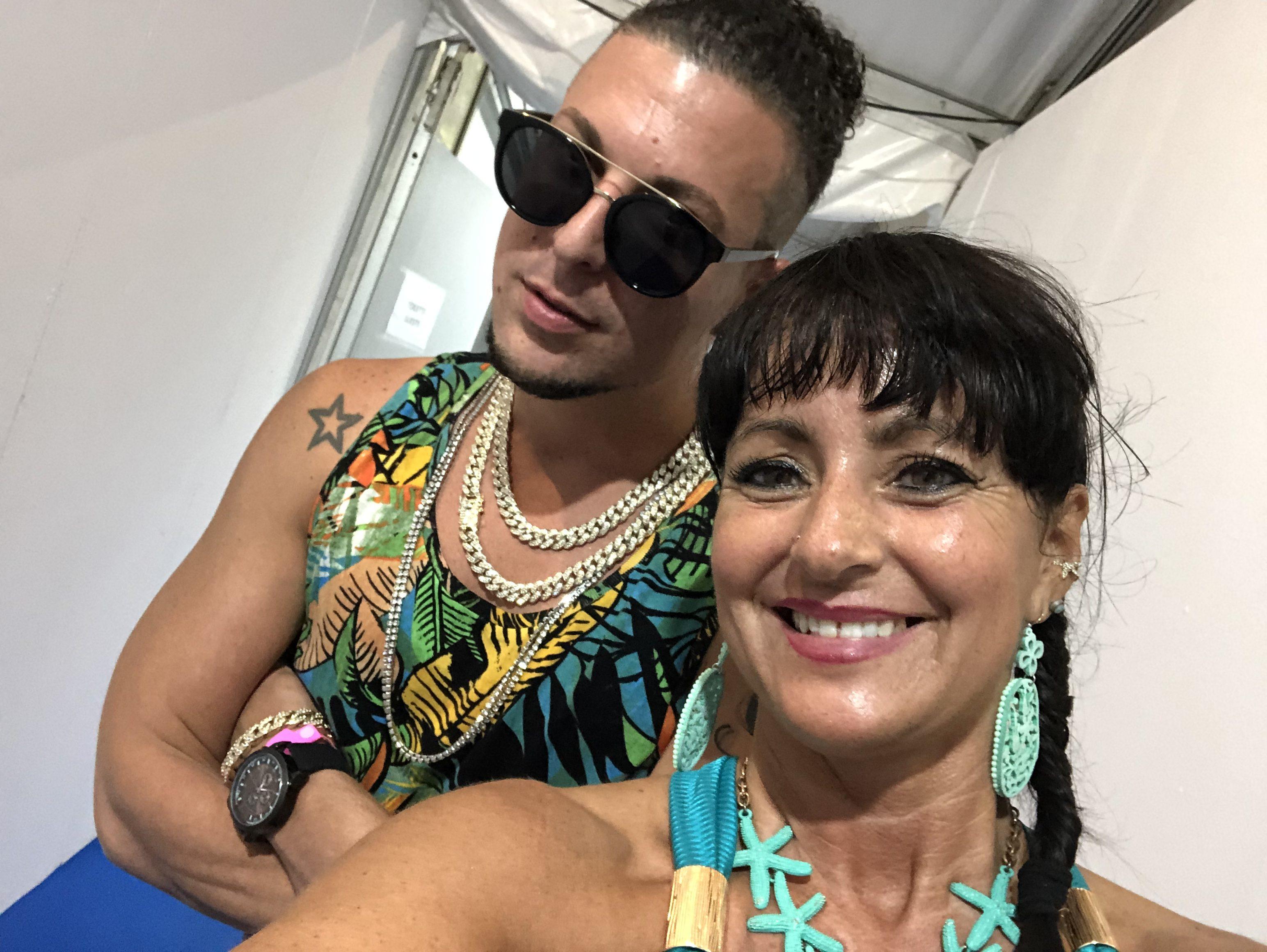 Dustin Richie e Chiara Ruggiero (Salsa.it)