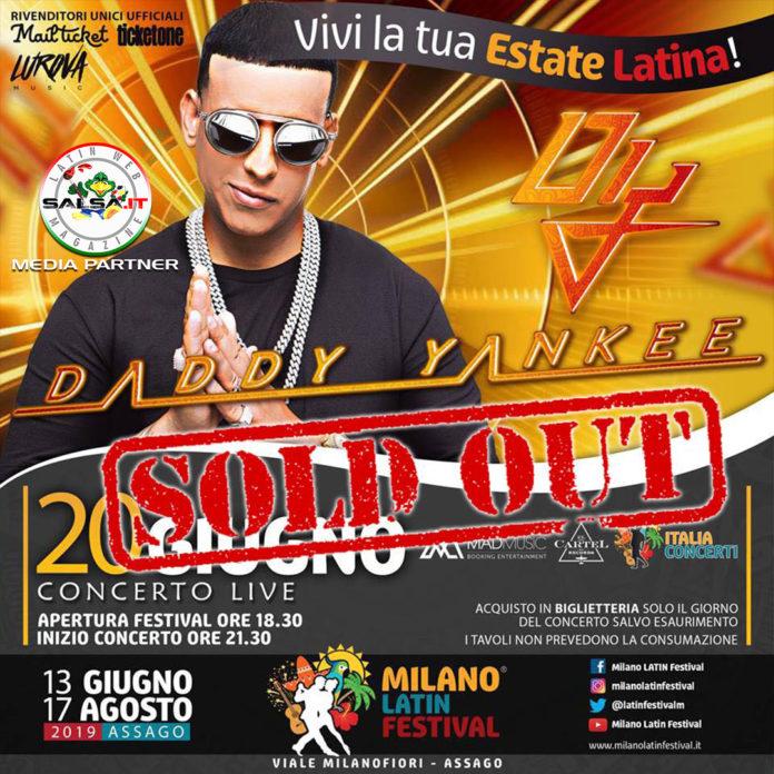 Concerto - Daddy Yankee 2019 (Milano Latin Festival)