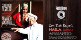 Haila Mompie - Con Todo Respeto Haila Canta A Armando Manzanero (2019 Recensione)