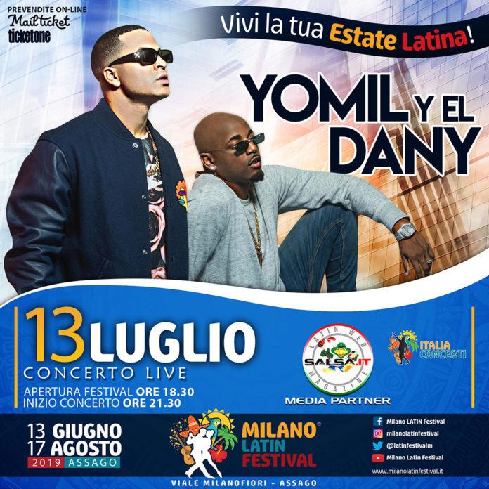 Yomil y El Dany 2019 (Milano Latin Festival)