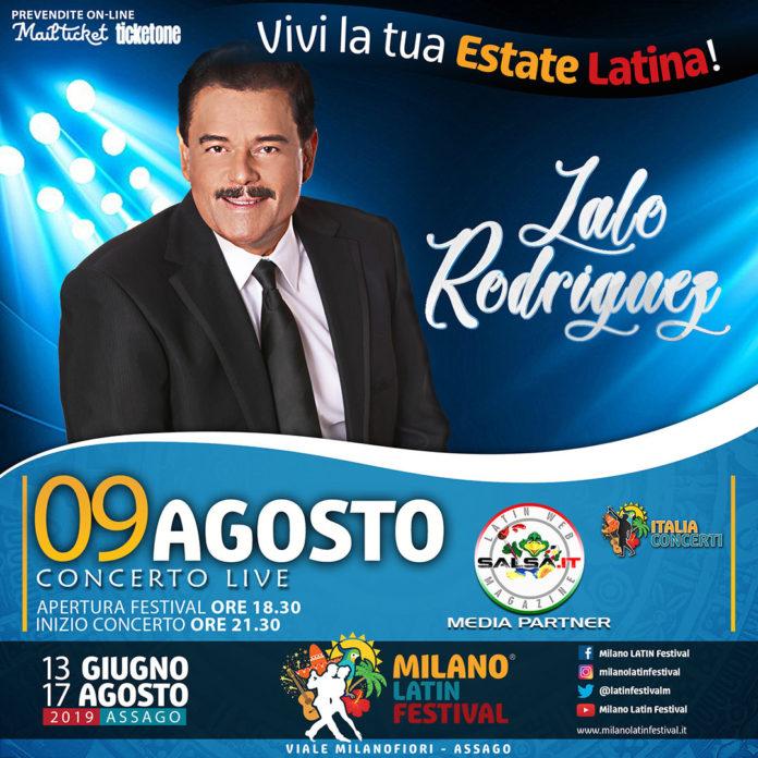 Lalo Rodriguez 2019 (Milano Latin Festival)