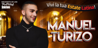 Manuel Turizo 2019 (Milano Latin Festival)