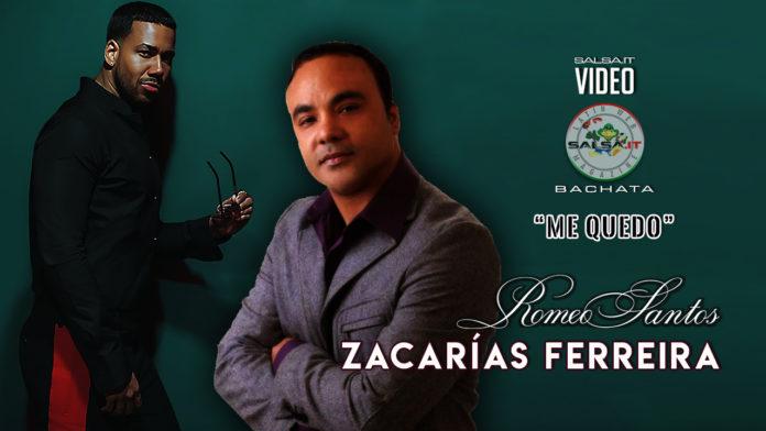 Romeo Santos, Zacarias Ferreira - Me Quedo (2019 Bachata official video)
