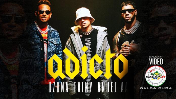Tainy, Anuel AA, Ozuna - Adicto (2019 Reggaeton official video)