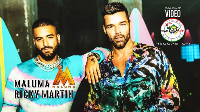 Maluma ft. Ricky Martin - No Se Me Quita (2019 latin urban official video)