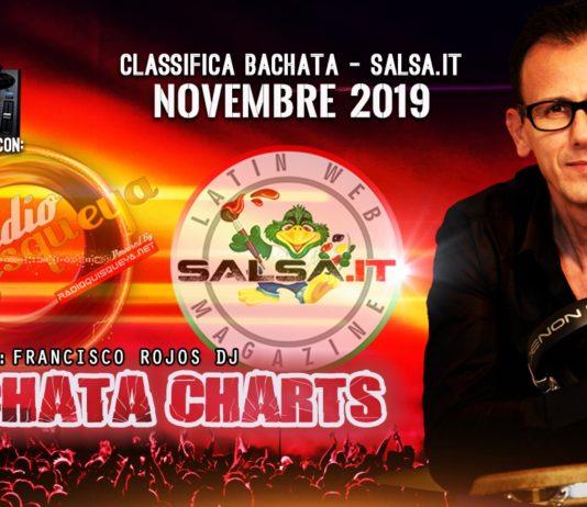 Bachata Charts - Novembre 2019 (Classifica Top 50)
