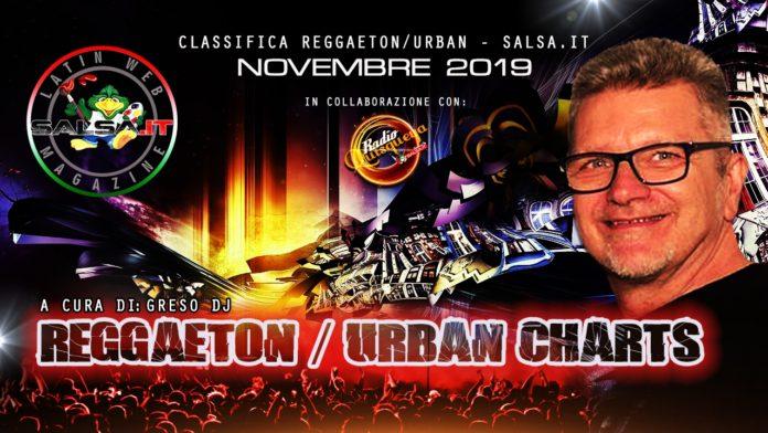 Reggaeton Urban Charts - Novembre 2019 (Top 30)