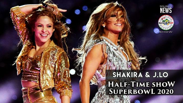 Shakira e Jennifer Lopez ed il loro memorabile show al superbowl 2020