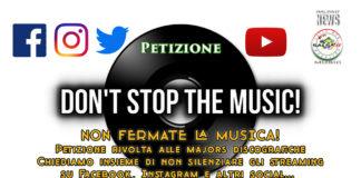 Don't Stop The Music - Petizione contro le major che bloccano la musica sui social