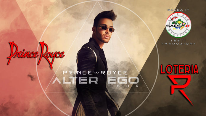 Prince Royce - Loteria (2020 Testi e Traduzioni)