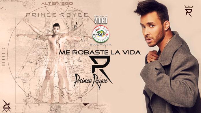 Prince Royce - Me Robaste la Vida (2020 Bachata lyric-video)