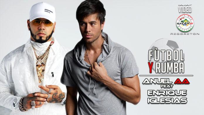 Anuel AA, Enrique Iglesias - Futbol Y Rumba (2020 Reggaeton official video)