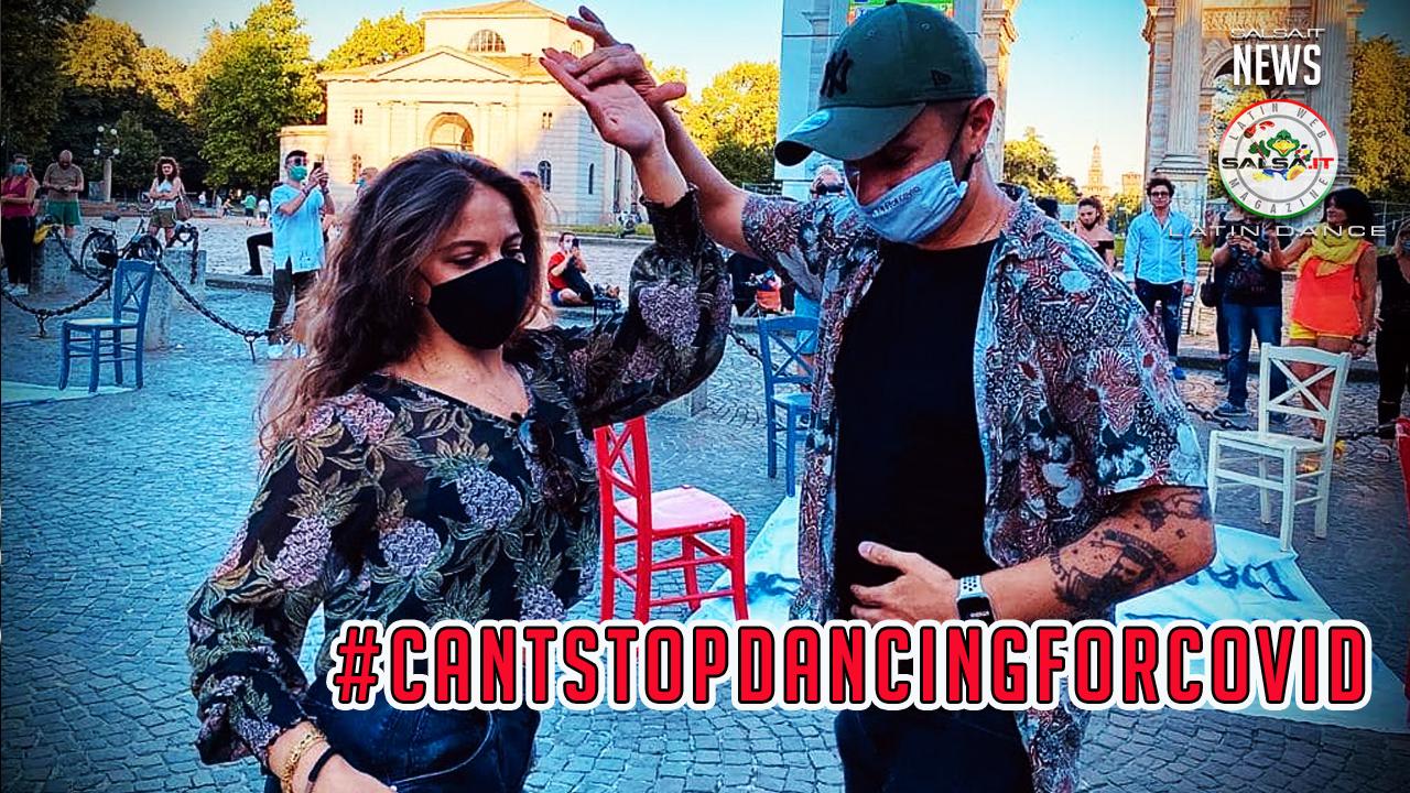 Cantstopdancingforcovid - Francesco Panarello e Veronica Monaco