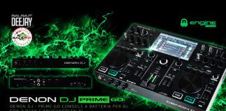 DENON DJ Prime GO - CONSOLE A BATTERIA PER DJ CON 2 DESK E TOUCHSCREEN