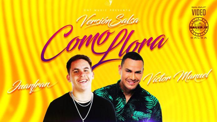 Juanfran feat. Victor Manuelle - Como LLora (2020 Video Official Salsa)