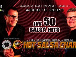 los 50 Salsa Hits Agosto 2020 - Classifica Salsa Bailable