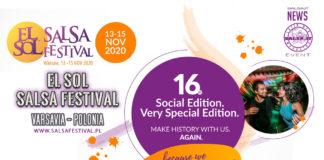 El Sol Salsa Festival - 13-15 Novembre 2020 Varsavia - PL (2020 Salsa News)