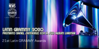LATIN GRAMMY 2020 - PREMIATO DANIEL SANTACRUZ CON IL SUO ALBUM LARIMAR