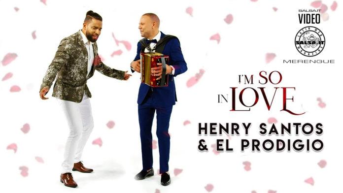Henry Santos feat. El Prodigio - I'm So In Love (2020 Merengue official video)