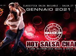 Hot Salsa Charts - Classifica Salsa Bailable - Gennaio 2021 (Los 50 Salsa Hit's)
