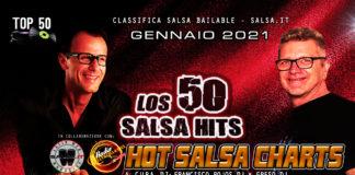 los 50 Salsa Hits - Gennaio 2021 (2021 Classifica Top 50 Salsa Bailable)