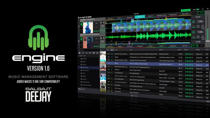 ENGINE PRIME 1.6 Nuova versione con Dropbox e Beatsource (2021 Dee Jay News)