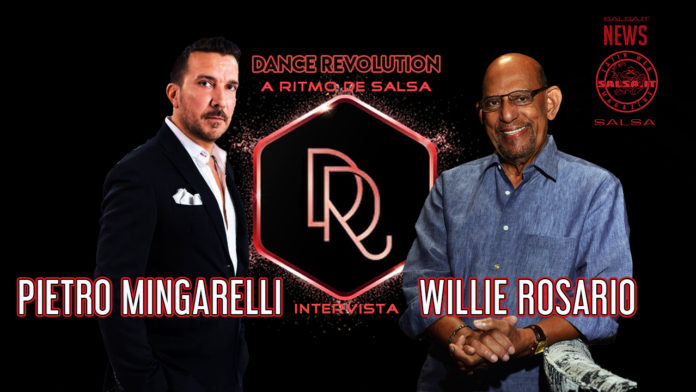 Pietro Mingarelli presenta A Ritmo De Salsa - Intervista a Willie Rosario (2021 News Salsa.it)