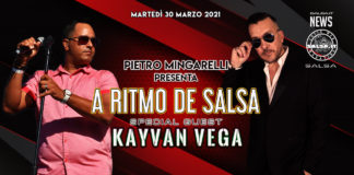 A Ritmo Di Salsa Presenta - Kayvan Vega (2021 News Salsa)