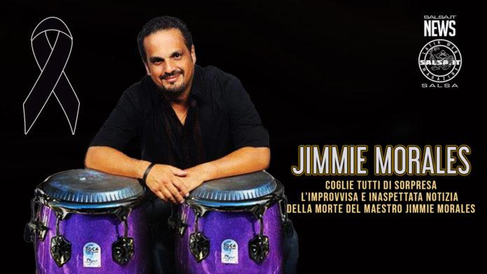 Muore Jimmie Morales il virtuoso maestro della conga (2021 News salsa)