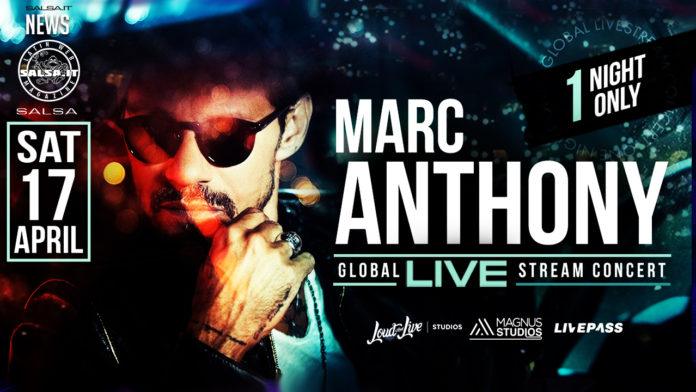 ONE NIGHT ONLY, IL CONCERTO IN STREAMING DI MARC ANTHONY